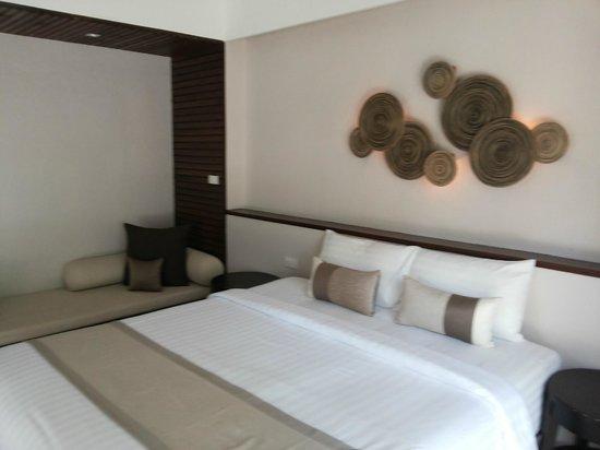 Sarikantang Resort & Spa : Bed