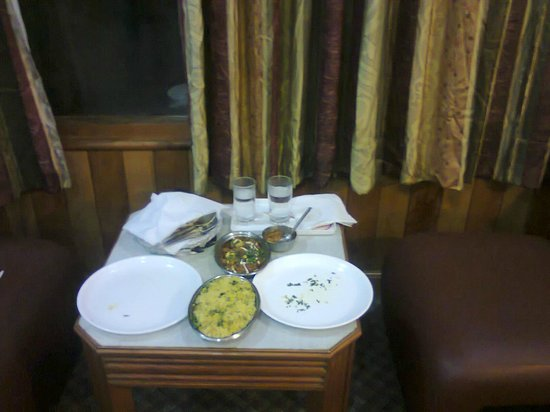 Hotel Jupiter : our Dinner