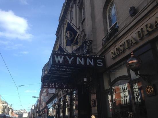 Wynn's Hotel: ingresso hotel