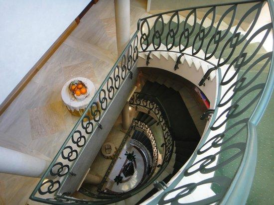 Grand Hotel Ortigia: 趣のある階段