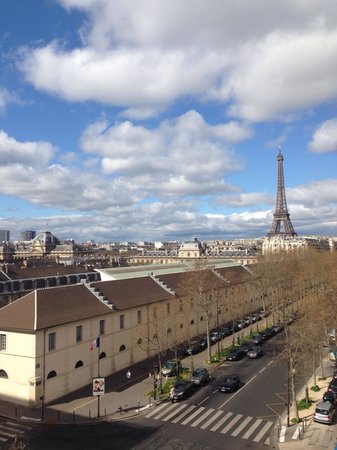 Hotel Duquesne Eiffel : View from 54