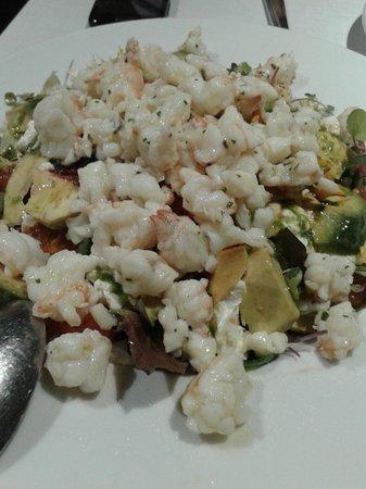 Taberna Laredo : ensalada de cigalas