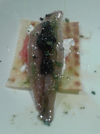 Taberna Laredo : pincho de sardina