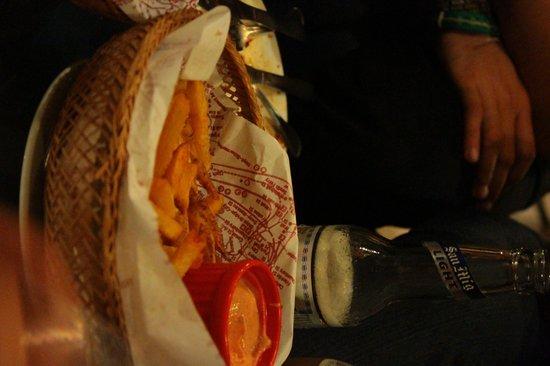 Borough: Basket of fries.