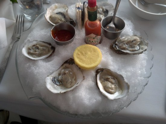 Sunset Catch Restaurant: Blue Point Oysters