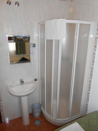 Hostal Los Alpes: Bathroom facilities