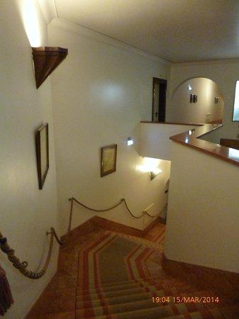 Pousada de Sagres, Infante: Staircase