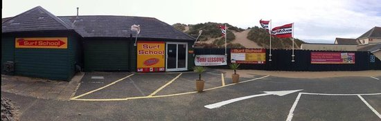 Surf South West: Our Croyde Centre - Right on the beach