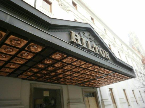 Hilton Budapest: fachada
