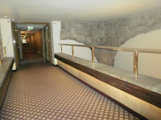 Hilton Budapest: corredor