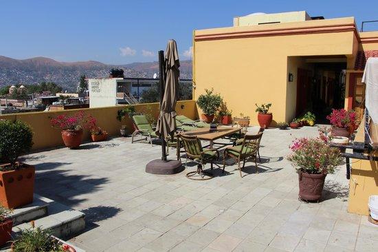 Hotel Aitana : Roof top terrace