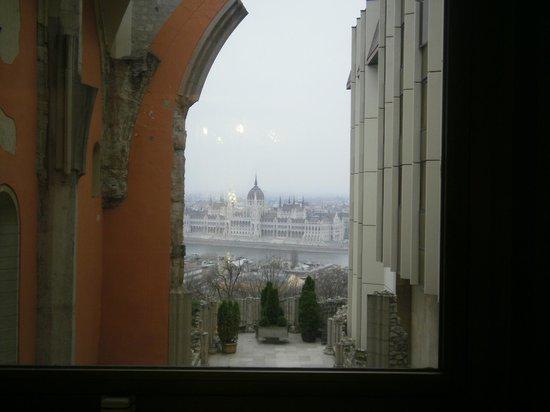 Hilton Budapest: vista do corredor