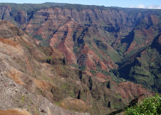 Waimea Canyon : Nature's Splendour