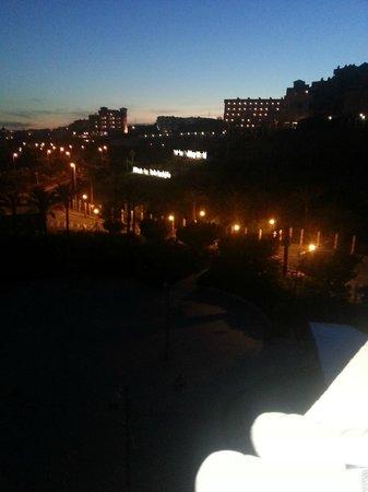 Holiday Village: night view