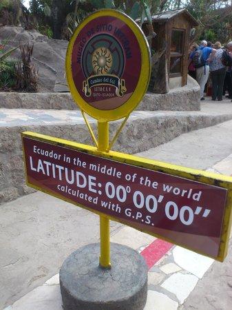 Intinan Museum: la linea ecuatorial