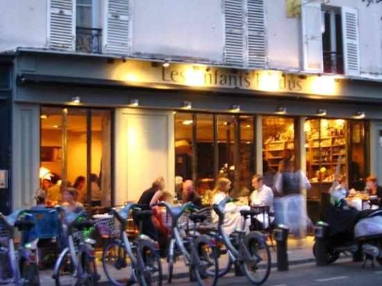 Timhotel Paris Gare de l'Est: les enfants perdus - bar restaurant