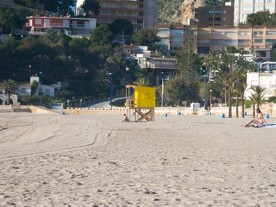Playa de Poniente: Lifeguard Station on Poniente Beach