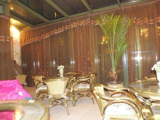 Wawel Hotel : Веранда