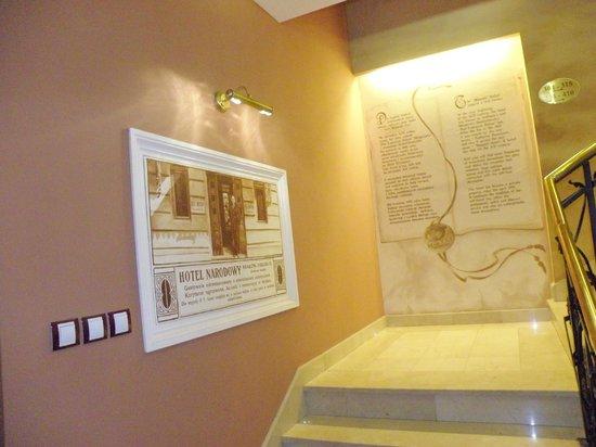 Wawel Hotel : Старинная реклама
