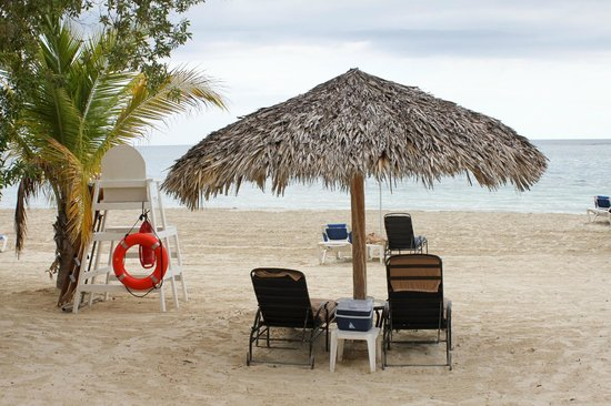 Sandals Whitehouse: Our spot on the beach