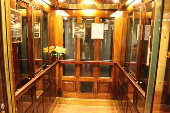 Copenhagen Plaza Hotel: Лифт