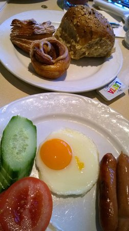 Copenhagen Plaza Hotel: Завтрак