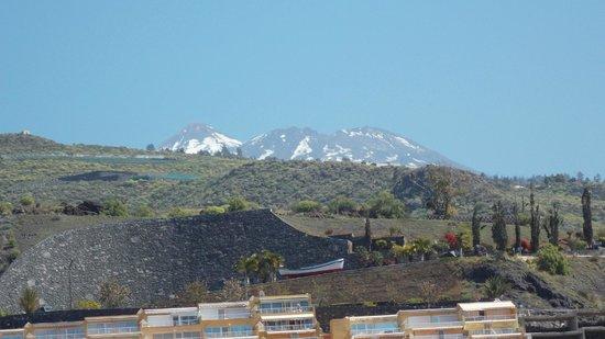 Vigilia Park: Snow on Mount Teide