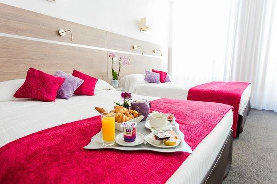 Hôtel de l'Europe : Chambre supérieure (de 1 à 4 personnes) + petit-déjeuner en chambre