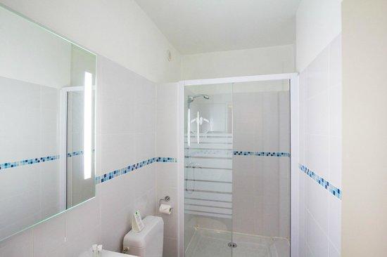 Hôtel de l'Europe Grenoble Hyper Centre : Salle de bain