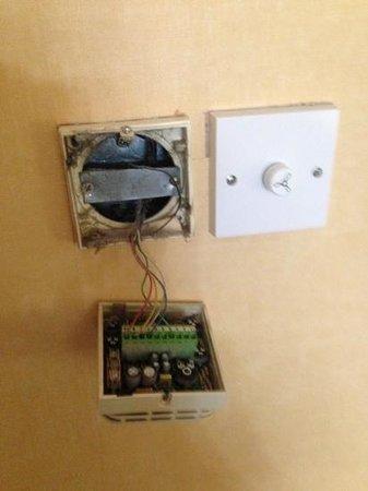 Britannia Country House Hotel & Spa: heating control