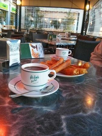 Gran Cafe at Bib Rambla: Churros