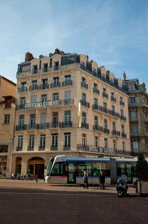 Hôtel de l'Europe : La façade