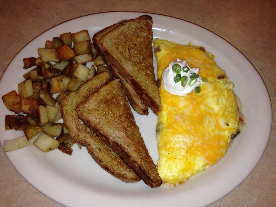 The Egg and I : Great Omlet! Great coffee!
