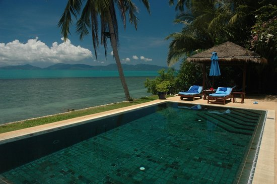 Belmond Napasai : This must be one of the most idyllic pool and oceanside residences in the world