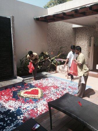 Desamuda Village: Part of the honeymoon setup