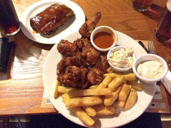 The Old Manor: Wings!
