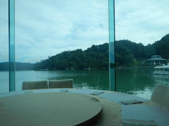 The Richforest Hotel-Sun Moon Lake: View from restaurant