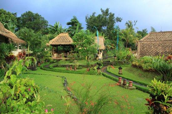 Surya Shanti Villa: jardins