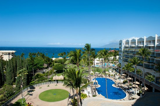 Fairmont Kea Lani, Maui: Great view from upper floors