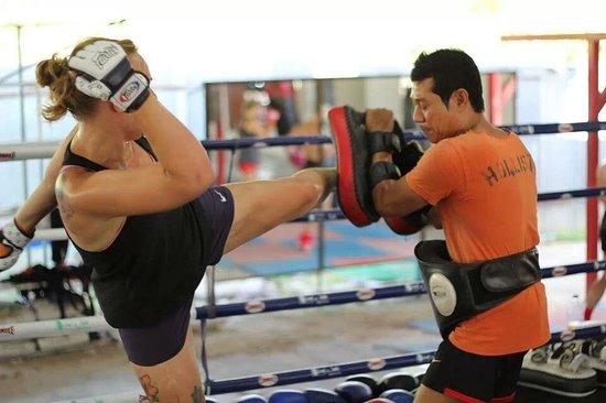 Phangan Muay Thai and Fitness Gym : Sal and me
