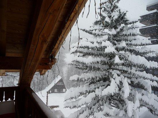Chalet Hotel L'Ecureuil : même sous la neige, c'est superbe
