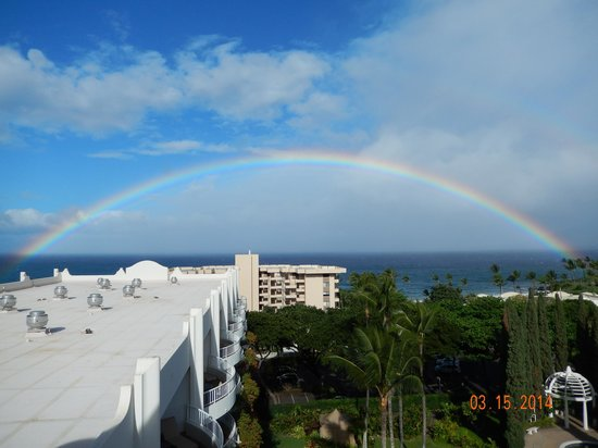 Fairmont Kea Lani, Maui: Spectacular Rainbow and Sunsets