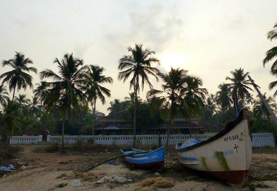 Neemrana's Cabana Dempo: Vue de la mer