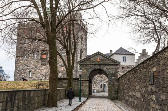 Rosenkrantz Tower - Bymuseet i Bergen : The entrance