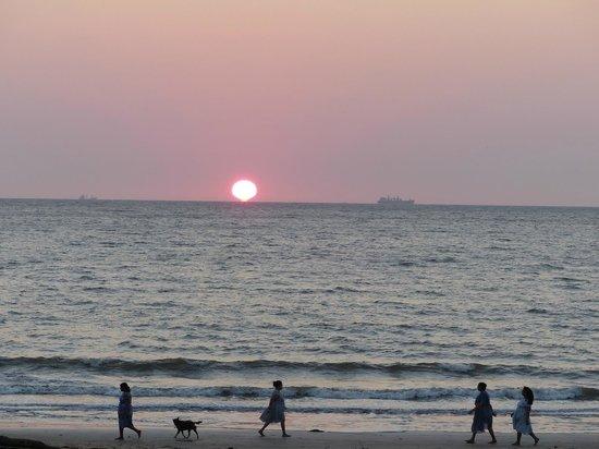Neemrana's Cabana Dempo: Vue sur la mer