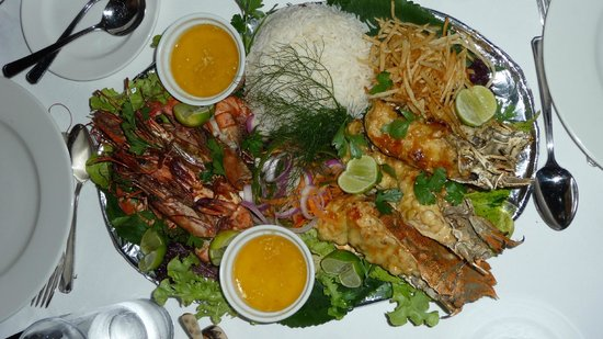 Ras Nungwi Beach Hotel : Special Meal