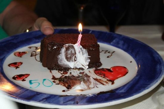 Driftwood: Anniversary dessert for the parents...