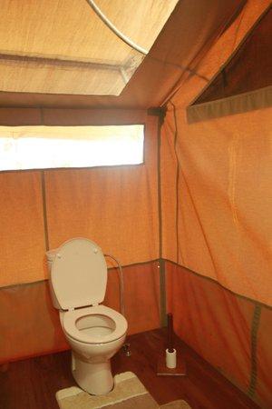 Sametu Camp: Toilette