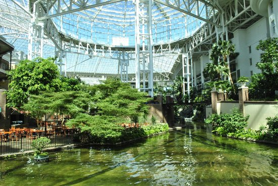 Opryland hotel - Picture of Opryland Hotel Gardens, Nashville ...