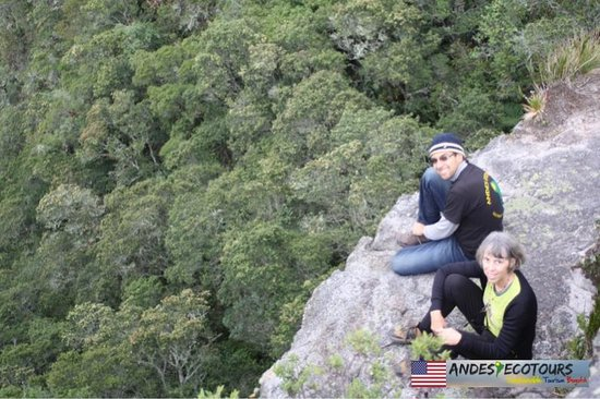 Hiking with Andes EcoTours Outside Bogota